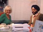 Antje Kessler, Kanwar Singh, New Delhi
