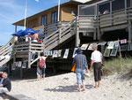 Thomas Landt - Kunstgraphik am Meer - Ausstellung La Grande Plage/ Kampen - August 2008 - Sylt