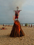 Thomas Landt - Biike-Feuer am Strand von Hikkaduwa / Sri Lanka - 21. Februar 2016 - Sylt