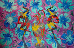 "Thomas Landt - ""o.T."" - Aquarell auf Büttenpapier - 35x50 cm - 2014 - Sylt"