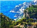 Ravello - Il mare visto dai monti