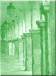 Cava de' Tirreni - Corso Umberto I in verde fogliame