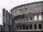 Colosseo e Colonne
