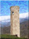 Cava de' Tirreni - Annunziata, Torre longobarda a Campitello