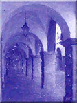 Cava de' Tirreni - Corso Umberto I in blu rhapsody