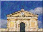 Cava de' Tirreni - Duomo con cielo sereno