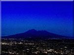Campania Felix - Piana dell'Agro-Nocerino, il Vesuvio verso sera...