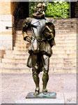 Toledo - Bronzo di Cervantes