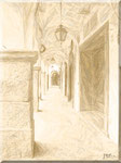 Cava de' Tirreni - Corso Umberto I in color seppia