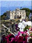 Tropea - S.Maria dell'Isola con fiori