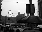 ..rainy day, rain all day... — hier: Station Amsterdam Centraal.