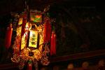 lampe chinoise dans un temple