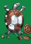 亀、鉄の再生