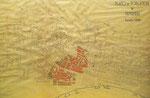 """Años 30. """"Plano de población de Santander"""". Se indica la zona afectada por el incendio, pero el plano parece anterior: aún no recogen las actuaciones realizadas bajo el mandato del Alcalde Castillo en 1936"""