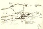 1838 Plano de Santander y de la línea de fuertes que defendían la ciudad, por José María Mathé