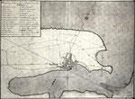 1772 Plano de la Bahía de Santander