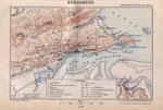 """1890 """"Santander"""", de la guía """"Espagne et Portugal"""" de A. Germond de Lavigne"""