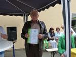40 Jahre Mitgliedschaft - Horst Bartsch
