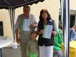 25 jährige Mitgliedschaft - Ilmi und Suezana Dervishi