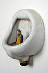 Urinalarrangement 4, Urinal (Duravit), Pappelholz, Farbe - 2013
