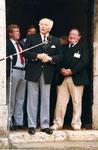Golfplatzeinweihung mit Bundespräsident Dr. Walter Scheel