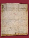 Papsturkunde von 1298 mit Hochstatt