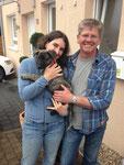 21.04.2013 - Annikkis neue Familie Petra und Uwe :-)