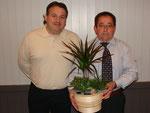 Die beiden Geehrten anlässlich der DV OSV am 27.03.2009 in Altstätten
