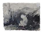 """""""daniel spark 14.""""  12x20 cm Acryl auf Leinwand"""