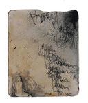 o.T. (X)  Lithografiestein  2013