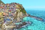 Manarola, Cinque Terre/Italien