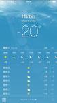 Das Wetter am 17. Dezember 2014 in Harbin, im Norden Chinas.