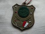 Dieser Orden aus 1997 wurde vom damaligen MGV Vorsitzenden Gerd Hain hergestellt