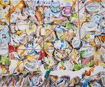 CHILDRENS BITHDAY 2017 Acryl auf Leinwand 50 x 60 cm