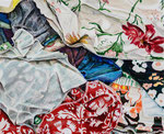 LOST FLOWERS  2019 Acryl auf Leinwand 50 x 60 cm