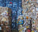 STACKED 2013 Acryl auf Leinwand 50 x 60 cm