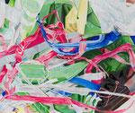 CUT BAGS 2020 Acryl auf Leinwand 50 x 60 cm