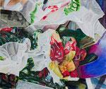 EXPLOSIVE BAG 2020 Acryl auf Leinwand 50 x 60 cm
