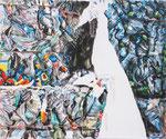 EMPTYINS 2017 Acryl auf Leinwand 50 x 60 cm