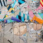 adaptability 2019, Acryl auf Leinwand 115 x 115 cm