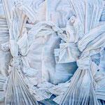 GIFT 2021 Acryl auf Leinwand 115 x 115 cm