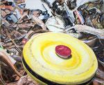 LOST INNOCENCE 2016 Acryl auf Leinwand 50 x 60 cm