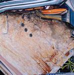 SURFACE 2021 Acryl auf Leinwand 115 x 115 cm