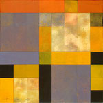 "Gregg Robinson, ""Patience,"" 2009, mixed media on canvas, 24 x 24"", $2500"