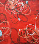 "Rana Rochat, ""A109,"" 2011, encaustic on panel, 48 x 42"", $6200"