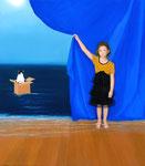 """Norma Bessouet, """"Abracadabra"""" 2012, oil on linen, 32"""" x 28"""", Contact"""