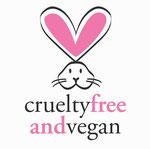 Logo Kosmetik vegan und  ohne Tierversuche
