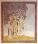 Wandbild, Herzogskelter, Güglingen, 1981