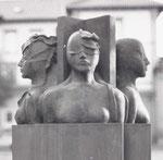 Vier Jahreszeiten, Sandstein und Steinguß, Stuttgart-Untertürkheim, 1983