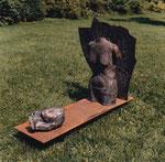 Tischgewächse, Bronze und Eisen, 1985